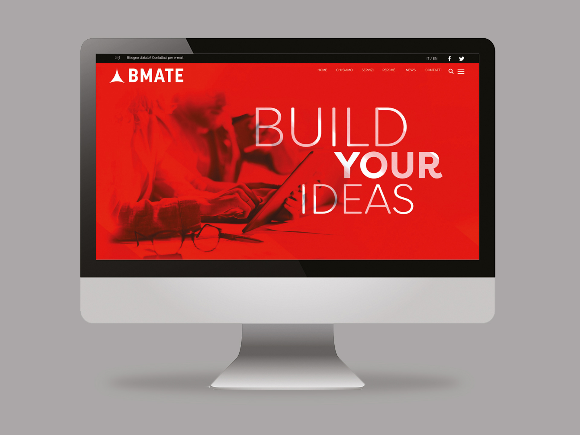 Immagine website BMATE home page